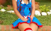 Gigi Spice Dresses Up Her A Cute Doll Outfit, Wana Play?