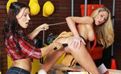 Hot And Mean Rachel Starr and Brynn Tyler Sex Time Rachel is hosting her first show ever - the use of tools in the pussy has for a while been curiously...