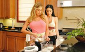 Hot And Mean Samantha Saint and Emmanuelle London Emmanuelle in the Land of  Emmanuelle is staying over at her brother's place and her brother's girlfriend, Samantha isn't pleas...