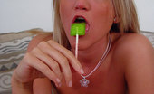 Spring Thomas My Green Lollipop Strip Solo Masturbation Lollipop