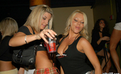 In The VIP lisa These crazy club babes get out of control and start gettin naked in the vip room