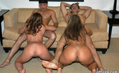 In The VIP hazel Hot foursome with girls from the vip room
