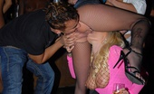 In The VIP aj Check out this hot ass fucking group sex club orgy