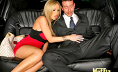 Muffia Big tits porn star nikki benz sucks her hubby limo drivers cock and gets rammed hard in these hot fucking reality porn pics