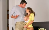 Muffia Smoking hot big tits jenna presley masterbates while watching the carpenter lay tile then gets drilled super hard in this hot fucking pic set