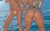 Muffia 2 super hot ass fine lesbians fuck each other on the open waters in these hot boat fucking lesbian sucking hot pics