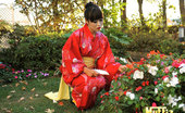 Muffia Super hot tight ass asian gets her box fucked in the flower garden in these japanese fucking pics