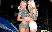 Muffia Super hot fucking big tits molly and sammie share their hot box in these hot camping fucking lesbo pics