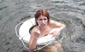 Captain Stabbin tiffany Cute amateur babe gets creamed on in these hot boat pics
