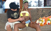 Captain Stabbin simone 102407 12 pics of hot black simone on the boat getting anal