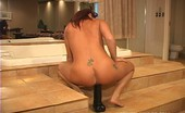 Brutal Dildos Annabelle Brutal Dildo Experience 102673 Bitch Forcing In A Thick Black Brutal Dildo