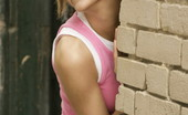 Andi Pink 104350 Sexy teen model in an alley
