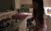 Ann Marie Rios Is Hot Between Romps In The Kitchen