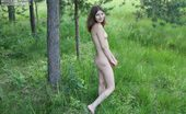 Amour Angels Yuliya YLI SUMMER Shameless Russian teen walking around in the park being naked not shying her nudeness