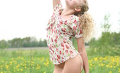 Amour Angels Olga BODY & MIND It looks like tender wind and beautiful view on the nature make blonde teen hot as she starts removing clothes.