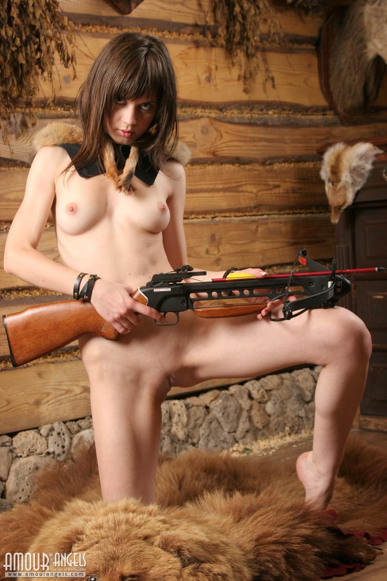 Hunter girl pussy hentai movie