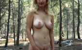 Amour Angels Valerie OLD STYLE Will you let this beauty girl with luscious parts make you hot and horny with a nice show in the forest?