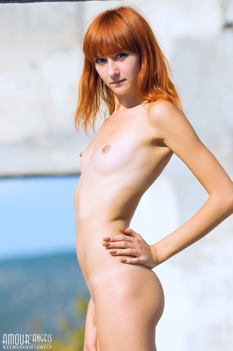 sexy too young flat redhead