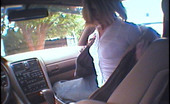 Street Blowjobs kimberly Cute babe gets naked in the car through spyglasses