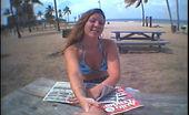 Street Blowjobs charlotte Cute chick in blue bikini gets boned in public bathroom