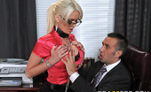 Perks of the Job Big Tits At Work Alexis Ford Alexis' sole responsibility at ZZ corp is to ensure the comfort of the employees, facilitating their...