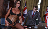Party Political Big Tits At Work Emma Butt A terrorist has threatened to blow up the downtown London area unless Prime Minister Danny D has sex...