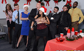 Office Christmas Party Big Tits At Work Jessica Bangkok Jessica is quitting her boring desk job in the best way possible: by crashing the office Christmas p...