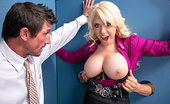 Glorious Holes Big Tits At Work Kagney Linn Karter Tommy Gunn has been seeing the office slut back in the glory hole room for some time now. But it was...