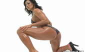 Big Wet Asses Sandra Romain Sexy brunette Sandra Romain gives head and fucks hard anally