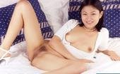 LBFM Pretty naked Thai model spreading and playing with her finger hut