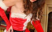 Only Tease Jess Impiazzi Jess Impiazzi makes for a real treat at christmas in her sexy santa outfit.