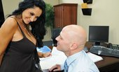 Mommy Got Boobs Ava Addams Interview with my Asshole Nicole isn't the sharpest tool in the shed. Lucky for her, her hot and sexy mom Ava is there to back...