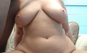Her First Big Cock Michelle 110584 Tired of skinny bitches, the duo was on the hunt for a heaping boo-tay to bang the fuck out of and feisty Michelle was down! This hefty honey swapped her husband's tiny peeny for some massive meat and loved every minute of it! Check out Michelle's First B