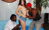 Her First Big Cock Faith Leon Faith was itchin' to hit it big and our maestros of meat were eager to please! The boner brigade pounded her pretty little holes making sure she new what big was! Watch pretty Faith get a painful souvenir after she gets her first big cock!