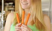 Danielle FTV Using Carrots On Her Coochie