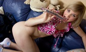 Club Seventeen Danielle 114088 Good looking cutie enjoys playing with big toys in her cunt