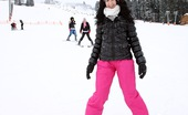 Club Seventeen Nicoletta And Linda And Betty And Lilly Four very cute teenage brunettes fucking at a ski resort