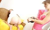 Club Seventeen Kata And Suzi Girl unleashing her great teenage tits for her best friend