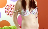 Club Seventeen Eilis Attractive teenage redhead fondles snatch with large toys