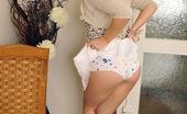 Club Seventeen Tegan Hot and naked teenage blonde masturbates with a big dildo