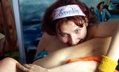 Club Seventeen Marina And Julia Showering teenage lesbians licking cunts in the bath tub