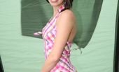 Club Seventeen Tea Key Horny camping teenager caresses coochie in her big tent