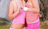 Club Seventeen Olivia La Roche Two lesbian teen cuties having sexual fun at their farm