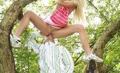 Club Seventeen Carla Cox Cute teenage blondie gets boinked while climbing a tree