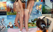 Club Seventeen Vivian And Marcella And Elvira Three best girl friends playing dirty sexual games together