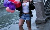 Club Seventeen Alisa Eighteen year old blonde teenager gets fucked in her ass