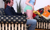 Club Seventeen Anna Eighteen year old pale redhead girl gets a big cock for fun