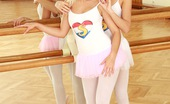 Club Seventeen Natascha And Evelyn Two lesbo ballerinas fucking each others wet slit in gym