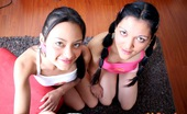 Club Seventeen Diana And Tammy Very hot teenage girls fucking a guy in threesome hardcore