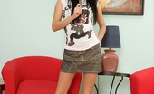 Club Seventeen Sara Very horny teenage chick massaging her own soaked snatch